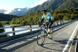 Bike leg Coast to Coast
